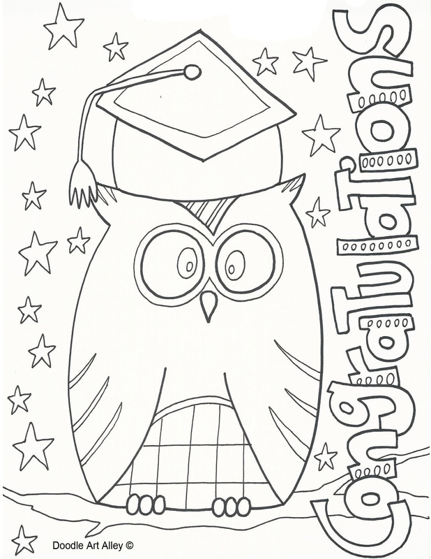 Coloring Pages Kindergarten Graduation : Coloring Pages