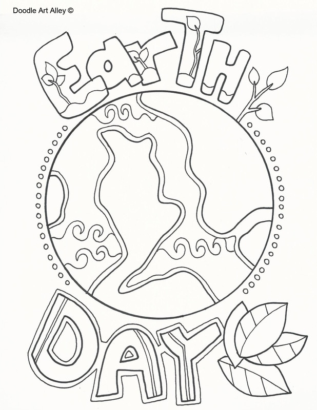 Doodle Art Alley Coloring Page Thankful Sketch Coloring Page