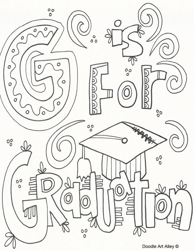 Kindergarten Graduation Coloring Worksheets. Kindergarten