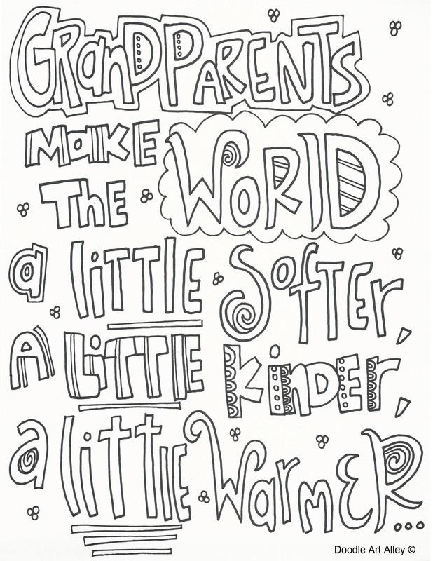 Printable Worksheets » Grandparents Day Worksheets