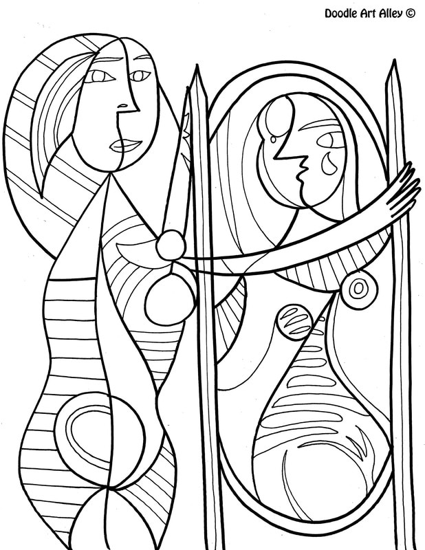 Free Calendar April Coloring Pages