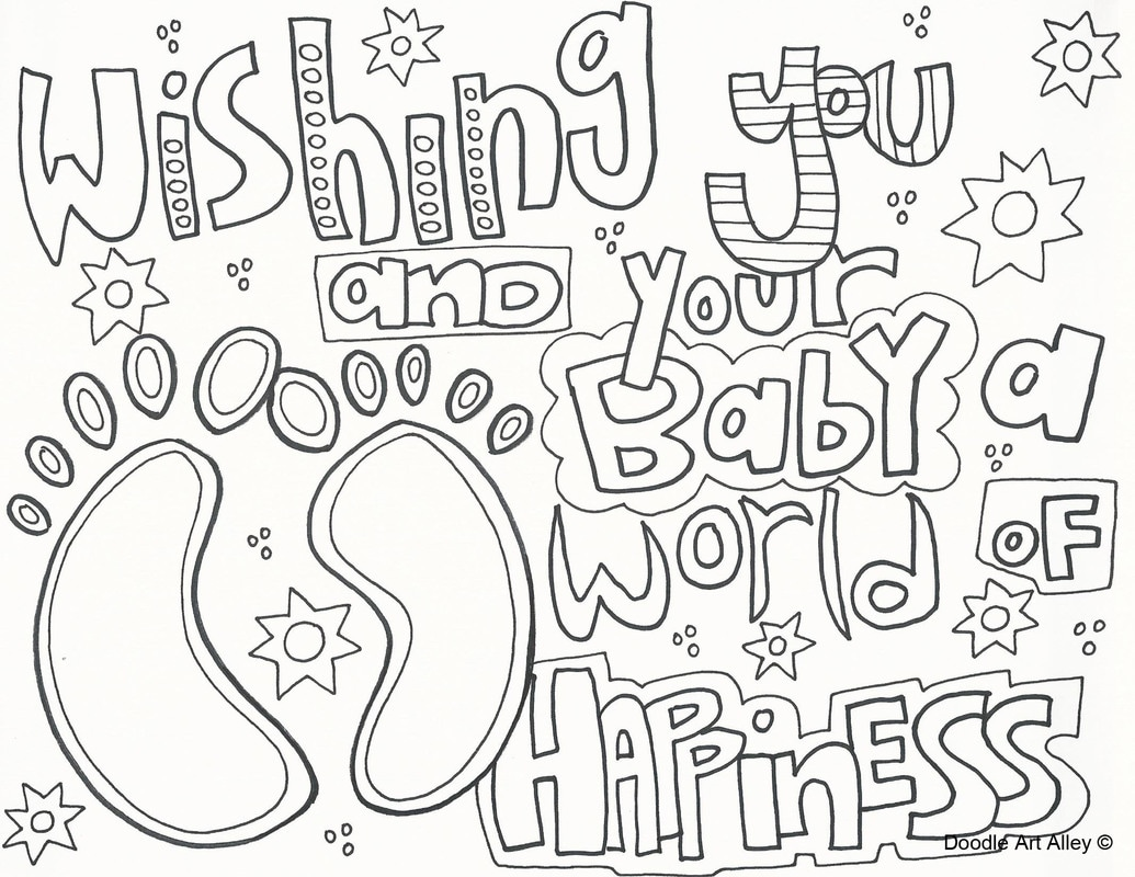 Baby Coloring Pages