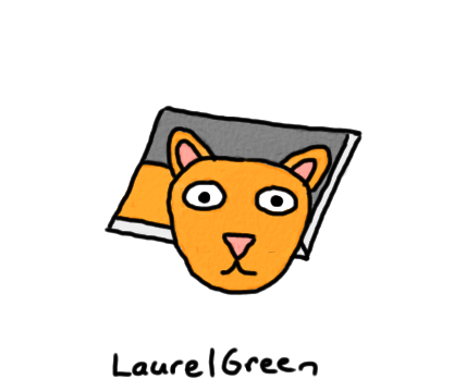 a drawing of ceiling cat