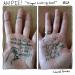 a bad joke written on some hands