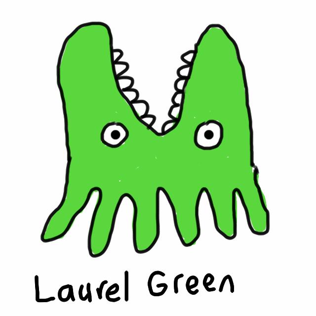 A badly-drawn ugly thing