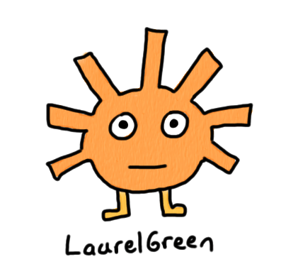a drawing of a cut sunny critter