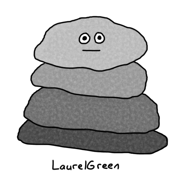 a drawing of a boring grey pile
