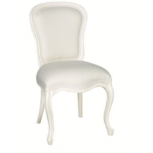 Chateau White Side Chair