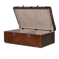Luxury Steamer Trunk Coffee Table