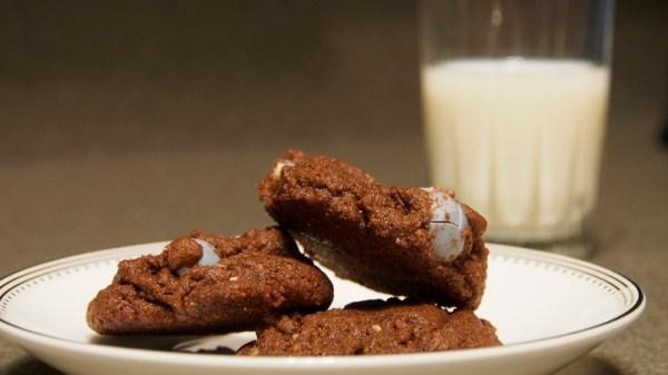 Mini-Egg Chocolate Cookies | doomthings