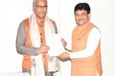 मुख्यमंत्री त्रिवेन्द्र से उत्तर प्रदेश के स्वतंत्र प्रभार मंत्री कपिल देव अग्रवाल ने भेंट की