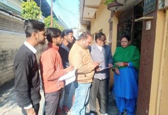 हरिद्वार: वार्ड नं0 1 में 7वीं आर्थिक जनगणना का हुआ शुभारंभ