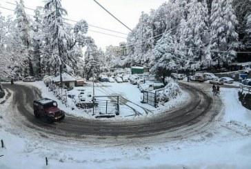 पहाड़ी इलाकों में बर्फबारी का अनुमान