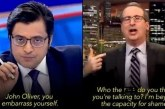 Arnab Goswami is Tucker Carlson of India: John Oliver