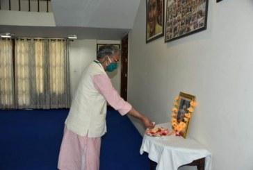 मुख्यमंत्री ने वीर शहीद केसरी चंद के चित्र पर पुष्पांजलि अर्पित कर श्रद्धांजलि दी