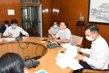 कोविड-19: सचिव चिकित्सा स्वास्थ्य ने वीडियो कांफ्रेंसिग द्वारा प्रदेश में कोविड-19 की स्थिति की समीक्षा की