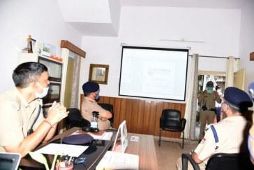 देहरादून ट्रैफिक पुलिस की नई बेवसाइट का शुभारम्भ