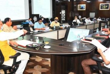 मुख्यमंत्री की अध्यक्षता में प्रतिकरात्मक वन रोपण निधि प्रबन्धन और योजना प्राधिकरण की प्रथम बैठक आयोजित हुई