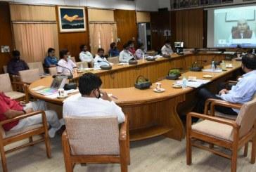 वीडियो कॉन्फ्रेंसिंग के माध्यम से भारतीय कृषि अनुसंधान परिषद की 26 वीं बैठक में कृषि मंत्री सुबोध उनियाल ने प्रतिभाग किया