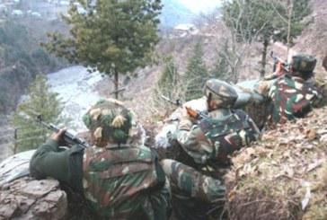 भारतीय सेना के जांबाज सैनिकों ने पाक के चार पोस्ट को बुरी तरह तबाह कर दिया है