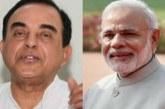 PM मोदी, खुद कीजिए चीन से बात : सुब्रमण्यम स्वामी
