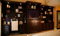 Custom Built in Cabinets by Doopoco Enterprises Fine Cabinetry