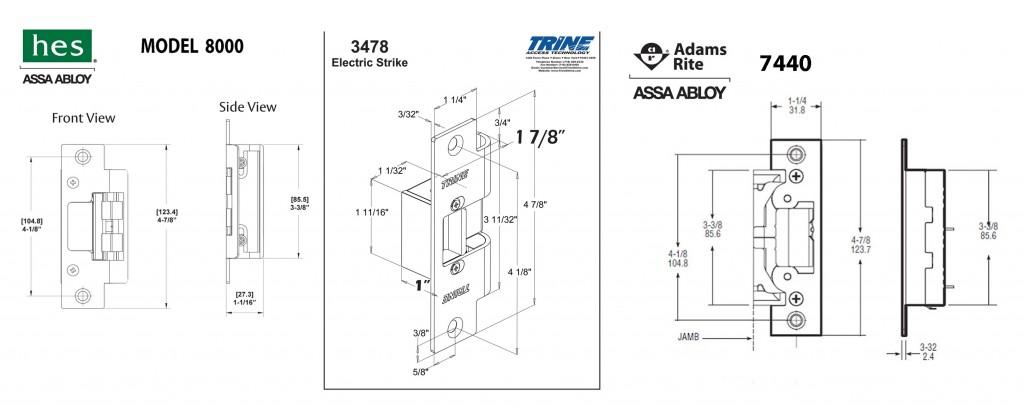 mortise lock parts diagram allen bradley motor starter wiring 3 phase irrigation panel electric strike » door hardware genius