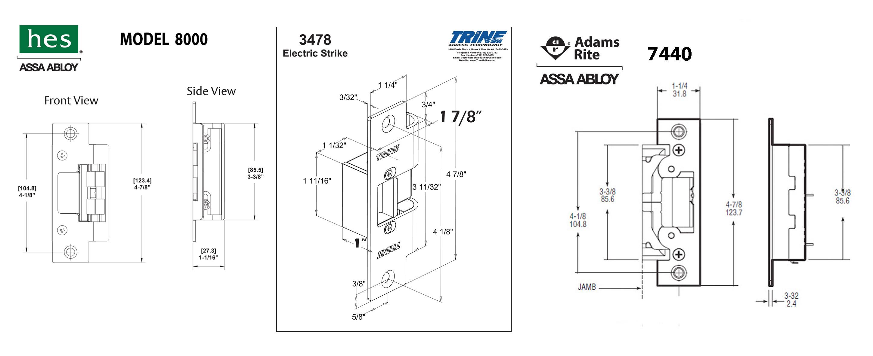 strikethree?resize=665%2C272 hes 1006 electric strike wiring diagram wiring diagram  at n-0.co