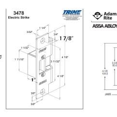 Electric Strike Wiring Diagram Honeywell Rth2300 Thermostat Door Hardware Free Download Schematic