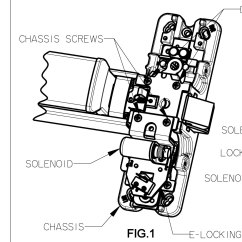 Door Hardware Diagram Traxxas Revo 3 Parts Precision Exit Device Wiring Harness 42