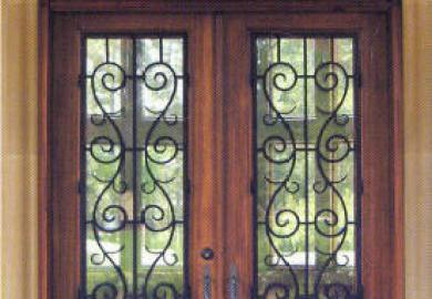 Wrought Iron Front Doors Home Design Ideas Pictures