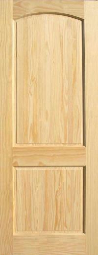 Pine Arch 2-Panel Wood Interior Doors   Homestead Doors