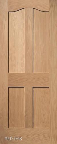 Homestead Interior Doors Eyebrow 4 Panel Door