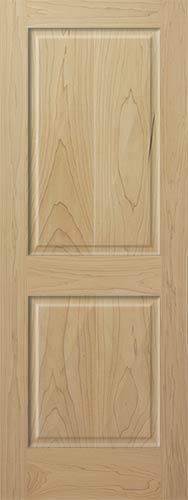 Poplar 2Panel Wood Interior Doors  Homestead Doors