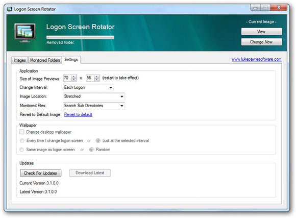 How To Automatically Change Logon Screen Background After An