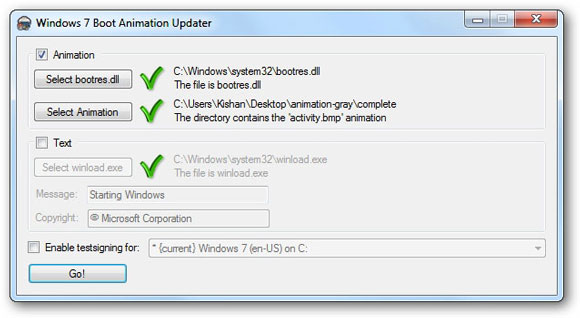 How To Change Windows 7 Boot Screen Animation
