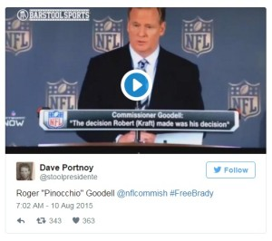 Roger Goodell Is Allowed To Be Hitler - Barstool Sports