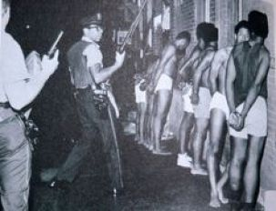 police bw