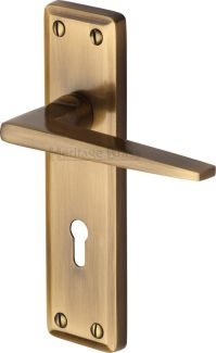 M Marcus Heritage Brass KEN6800AT Kendal Door Handle on ...