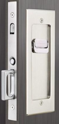 Emtek Privacy Pocket Door Modern Mortise Lock