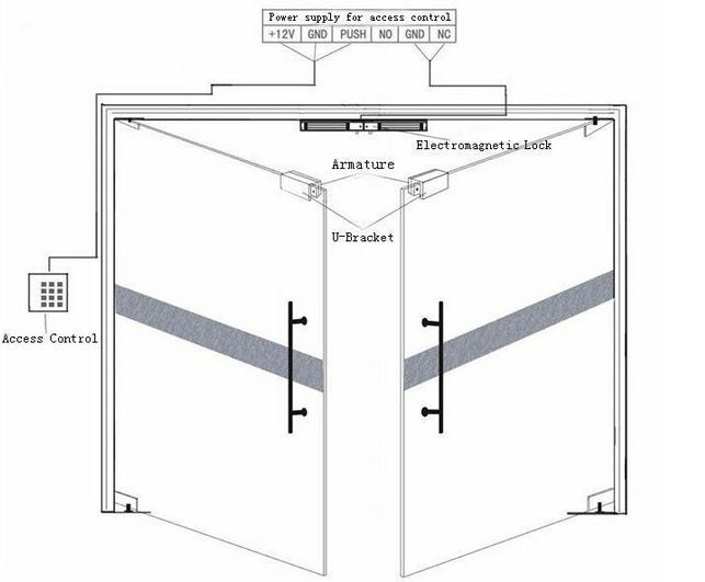 electronic door lock wiring diagram