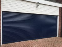 Alluguard Insulated Electric Roller Door fitted in
