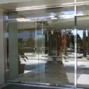 Entrance glass doors