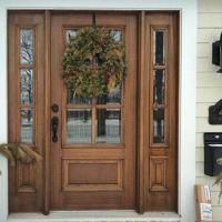 MAI Doors DD6L-2 | 6-Lite TDL Mahogany Entry Double Doors ...