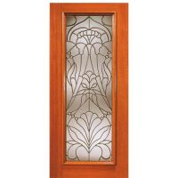 French Doors Exterior: Beveled Glass French Doors Exterior