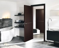 Solid Oak Doors l Dark Oak, Chocolate Veneer Finish l ...
