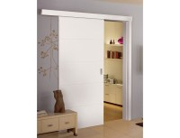 Sliding Internal Doors | Grooved Doors | White Interior Doors