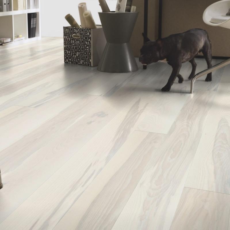 Tarkett Prestige Ash Seashell Engineered Wood Flooring