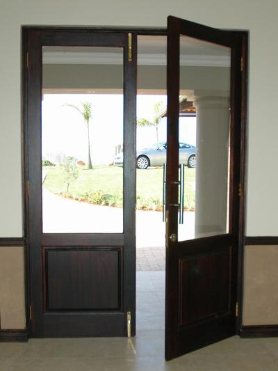 Full Pane Top Solid Bottom 1210 X 2032 Exterior Doors