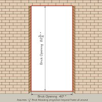 How To Measure Your Front Entry Door, Replacement Exterior ...